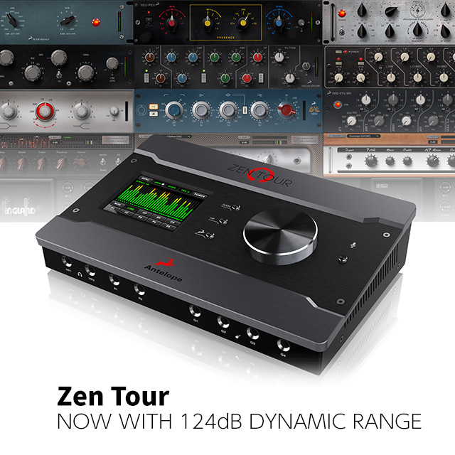 Zen Tour Portable Thunderbolt™/ USB Audio Interface